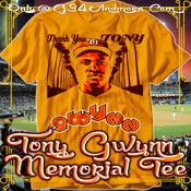 Image of Mr Padres Tony Gwynn Tribute Tee