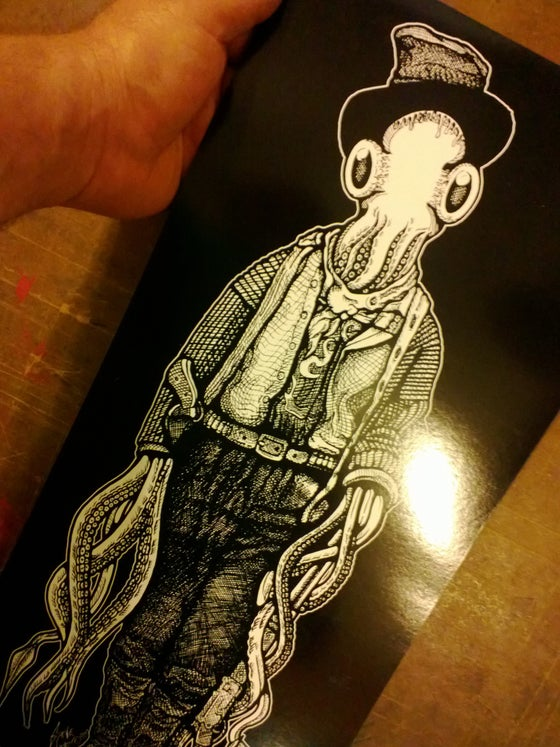 Image of Billy the Squid Serigraph.