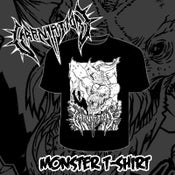 Image of Monster Black T-Shirt