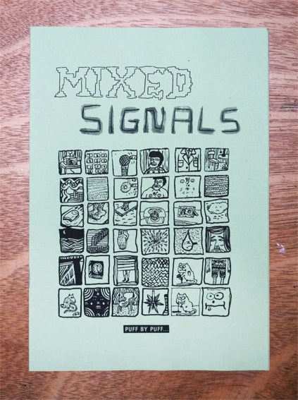 Image of 'Mixed Signals' Zine by Nick White and Sam Rees