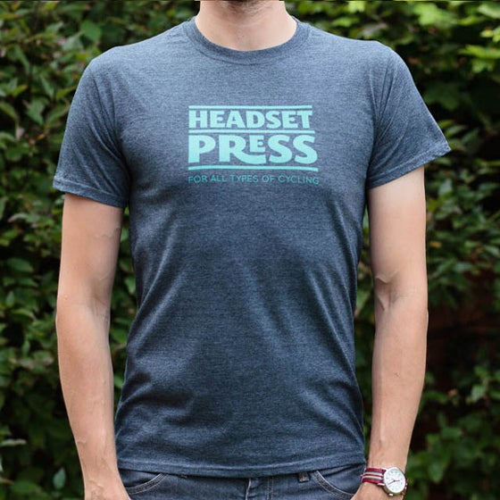 Image of Headset Press Tee Celeste