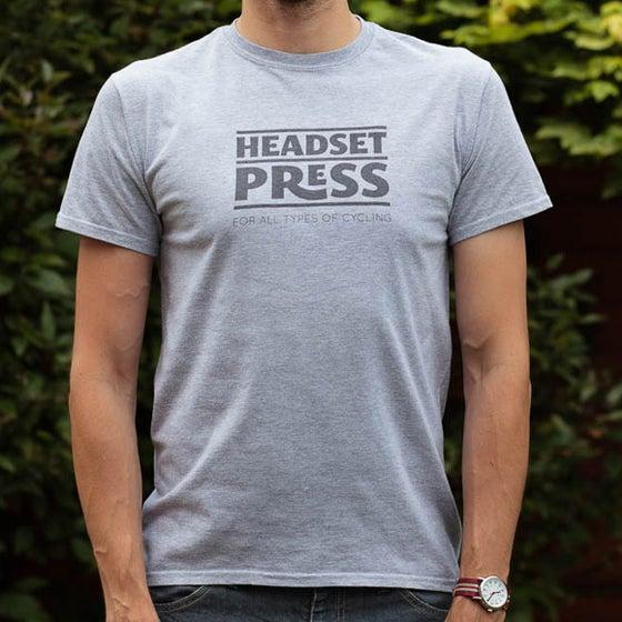 Image of Headset Press Tee Grey