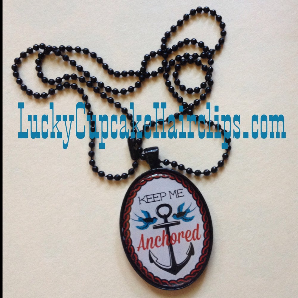Image of Keep Me Anchored Necklace