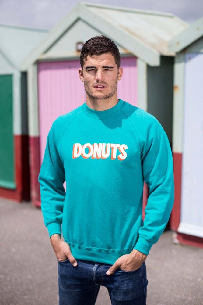 Image of DONUTS CREWNECK - JADE