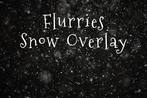 Image of Flurries Snow Overlay