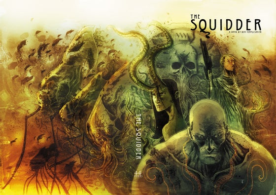 Image of PREORDER THE SQUIDDER HARDCOVER OGN from 44FLOOD
