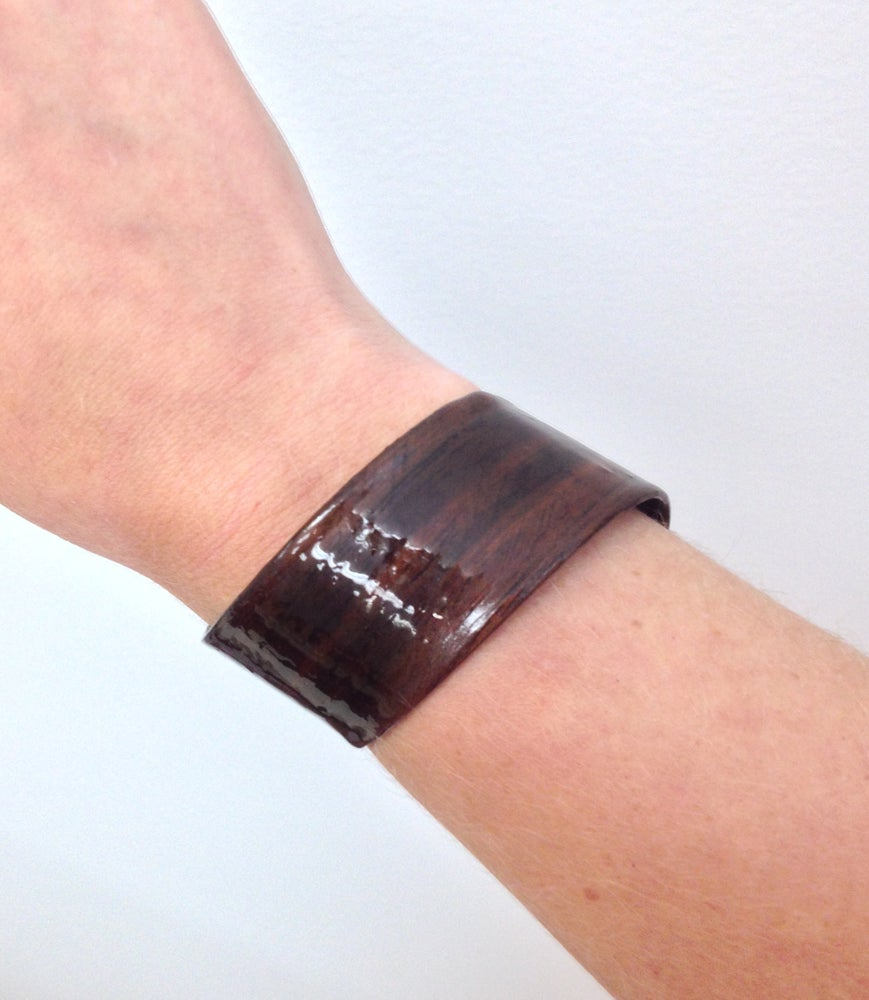 Image of Black Walnut Spiral Cuff