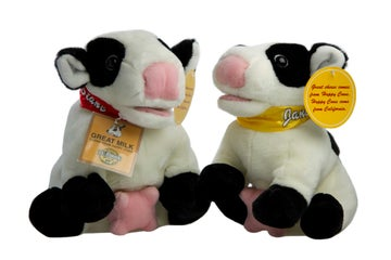 Image of Happy Cow Plushie