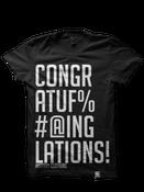 Image of Congratufuckinglations - Black