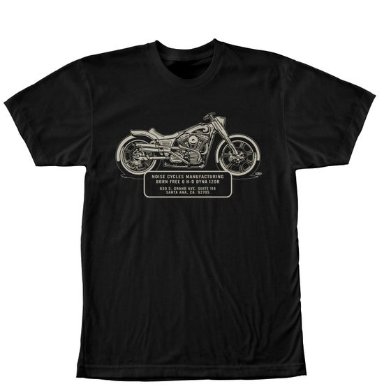 Image of Born Free 6 Show commemorative shirt