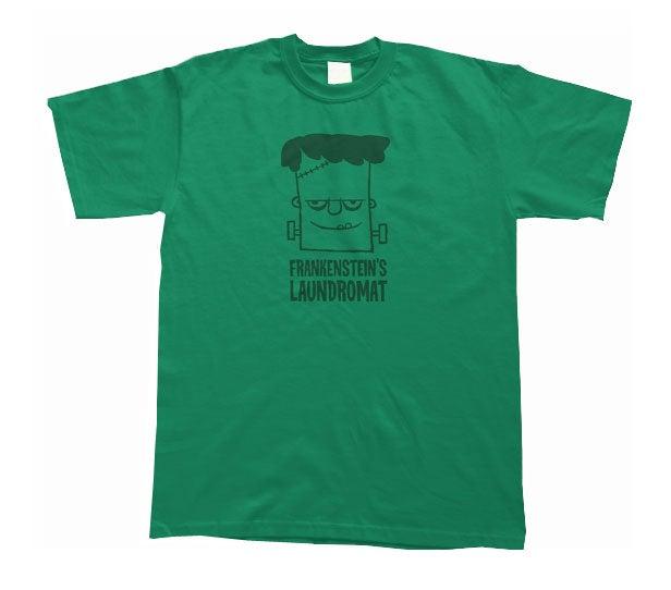 Image of Frankenstein's Laundromat Shirt