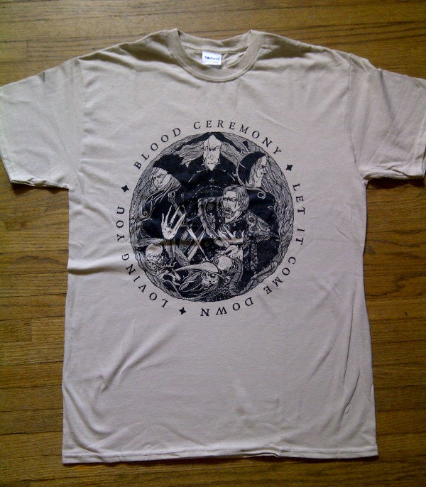 New Jersey >> Blood Ceremony — LET IT COME DOWN T-shirt