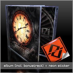 Image of Time Tears Down CD + Sticker