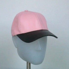 Image of Exclusive Pink - 2 Tone Leather Cap