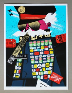 Image of Primus poster Boise ID. 05/12/13