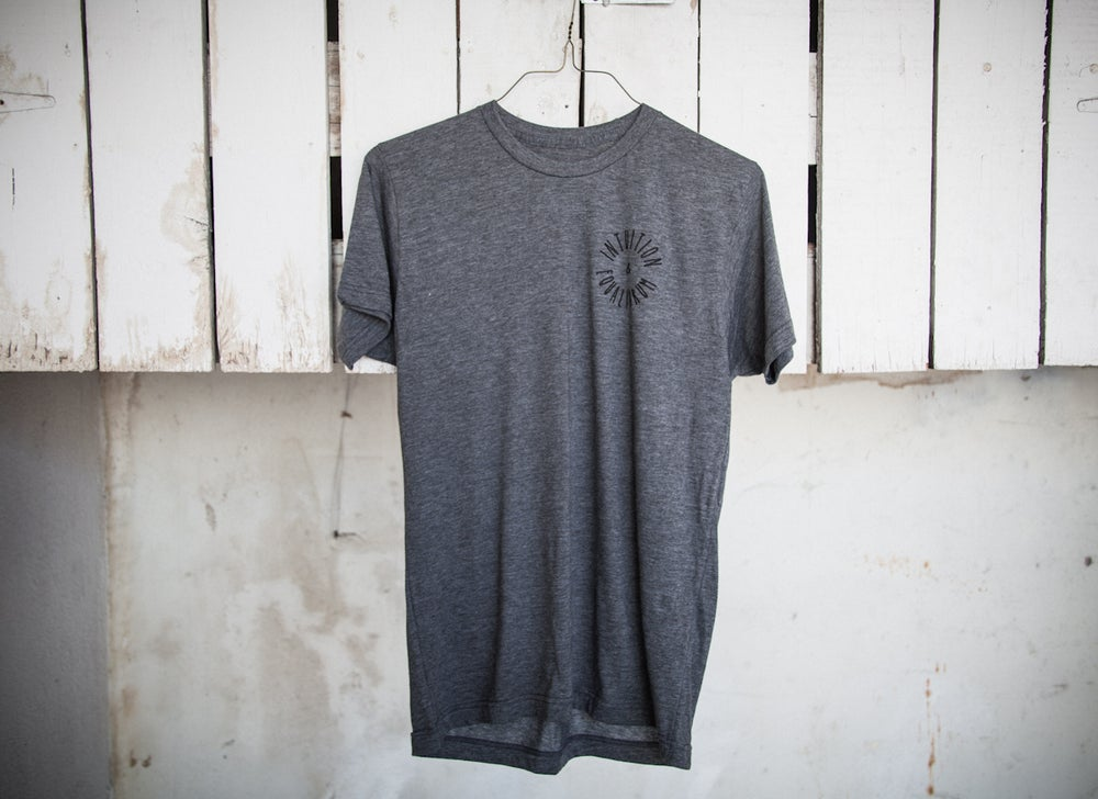 "Image of ""The Worst Me"" Tee Shirt (Dark Heather Gray)"