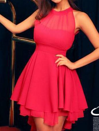 Image of Nice show thin net dress
