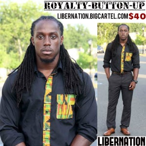 Image of Royalty Button-Up