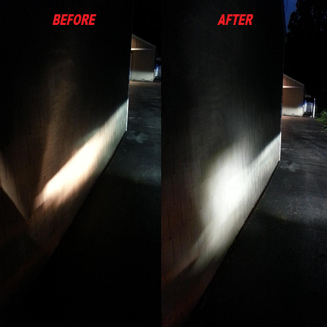 how to make headlight more brighter