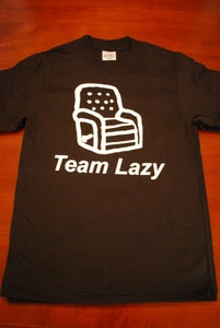 Image of Team Lazy T-shirt - Black