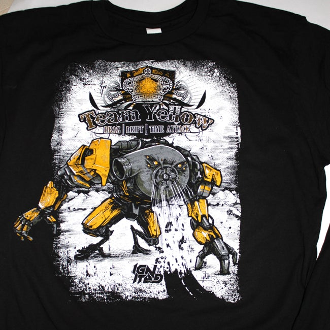 Image of TEAM YELLOW RACING TEAM TEE