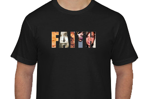 "Image of ""Faith"" Unisex Tee"