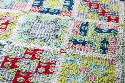 Image of Simply Sampled Quilt PDF Pattern