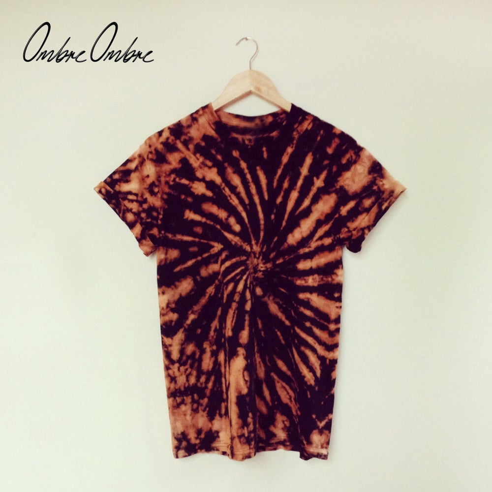 Image of Peach Spiral Tee