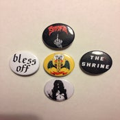 "Image of The Shrine 5 buttons 1.5"" button pack"