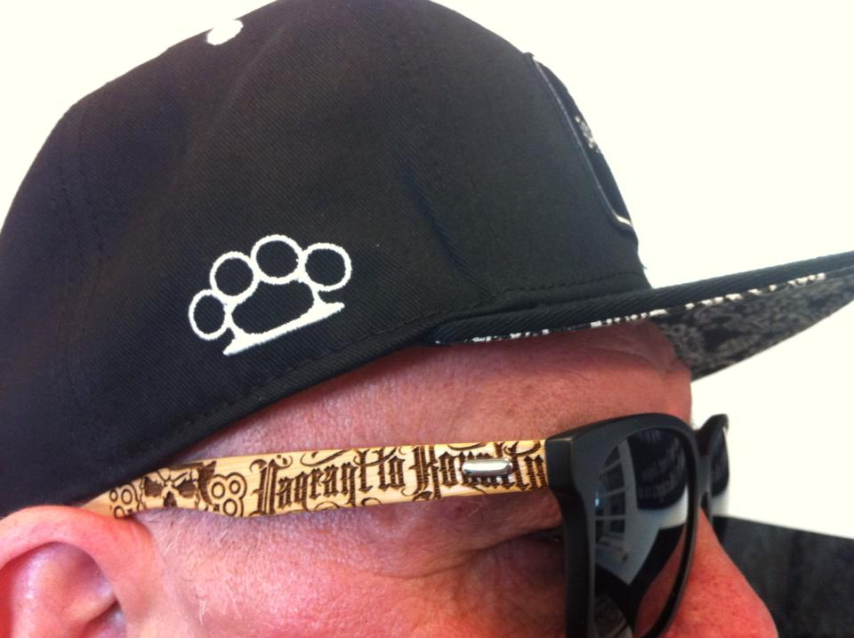 Image of Bamboo Wayfarer Sunglasses