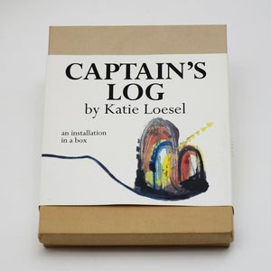 Image of Captain's Log: An Installation in a Box by Katie Loesel