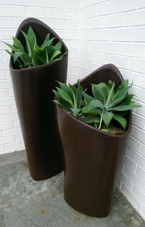 Image of coral planter 90 & 120 from