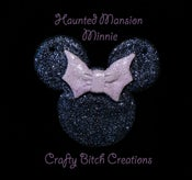 Image of Haunted Mansion Minnie Necklace