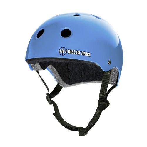 Image of PRO SKATE HELMET - gloss light blue