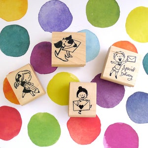 Image of Pen Pal Rubber Stamps