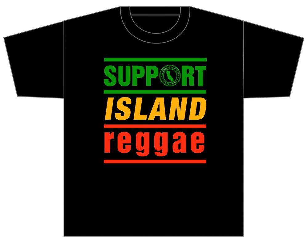 Image of SUPPORT ISLAND REGGAE SHIRT