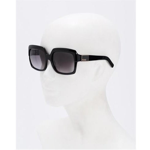 Image of SOLD OUTAUTHENTIC Fendi Square Sunglasses Black Tortoiseshell FS5148 001 57