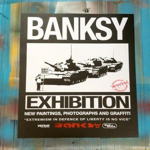 Image of BANKSY EXHIBITION POSTER