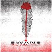 Image of Swans & Xiu Xiu Silkscreen Poster
