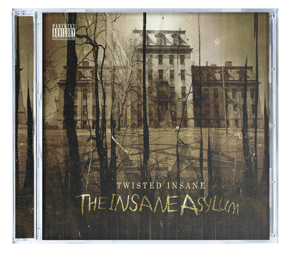 Image of 'The Insane Asylum' CD