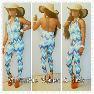 Image of colorful jumpsuit