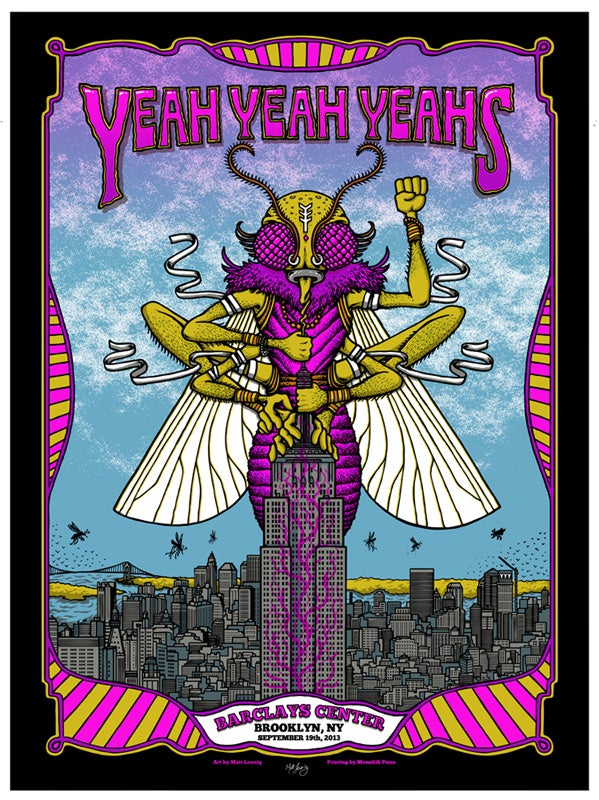Image of YEAH YEAH YEAHS @ Barclay Center, NY - 2013