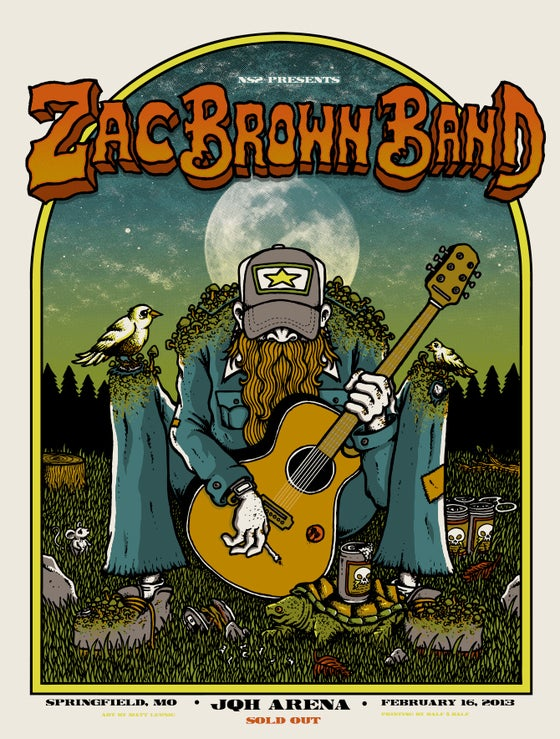 Image of ZAC BROWN BAND @ JHQ Arena, MS - 2013