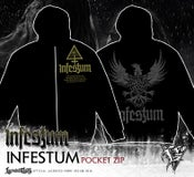 Image of INFESTUM - pocket Zipper hoodie
