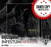 Image of INFESTUM - Monuments Of Exalted SIGNED DIGIPACK 25 pcs!