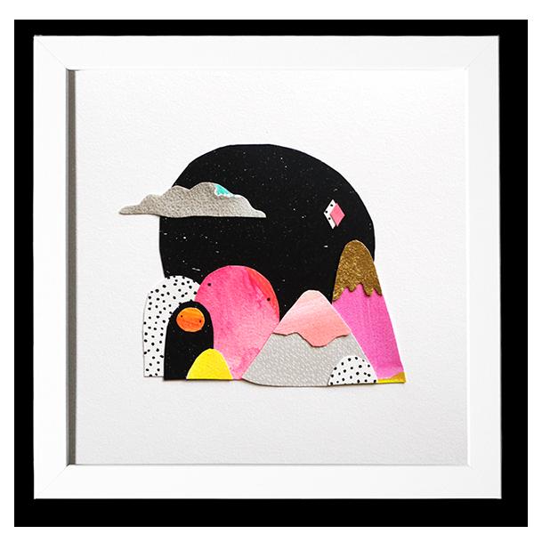 Image of Mountain Bloobs - Original Artwork