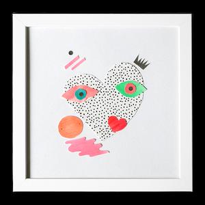 Image of Lover Heart - Original Artwork