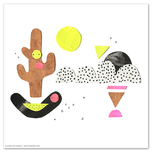 Image of Cactus Moon - Limited Edition Print