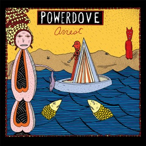 Image of powerdove - Arrest (LP) including DL card + poster