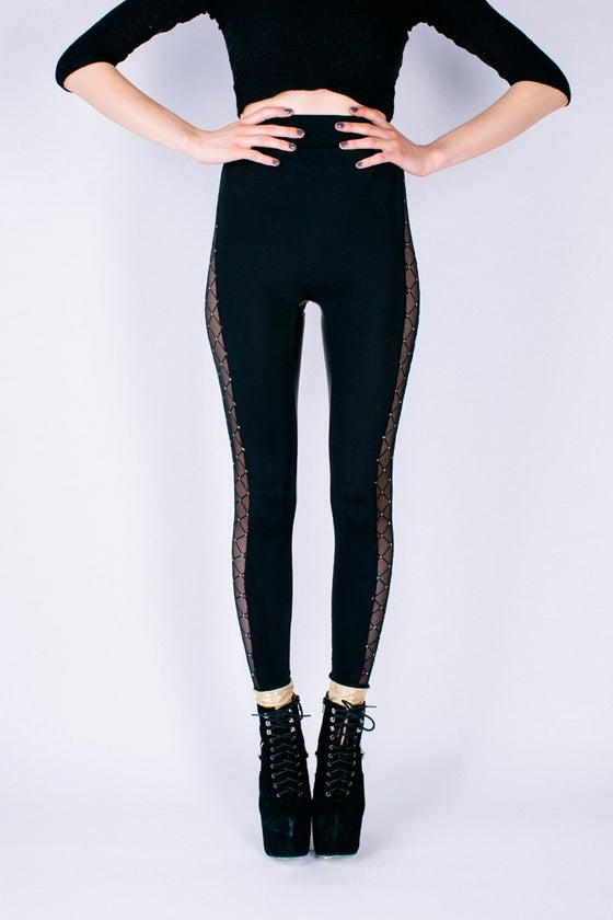 Image of CELINA Leggings in Limted Edition DISCO FEVER